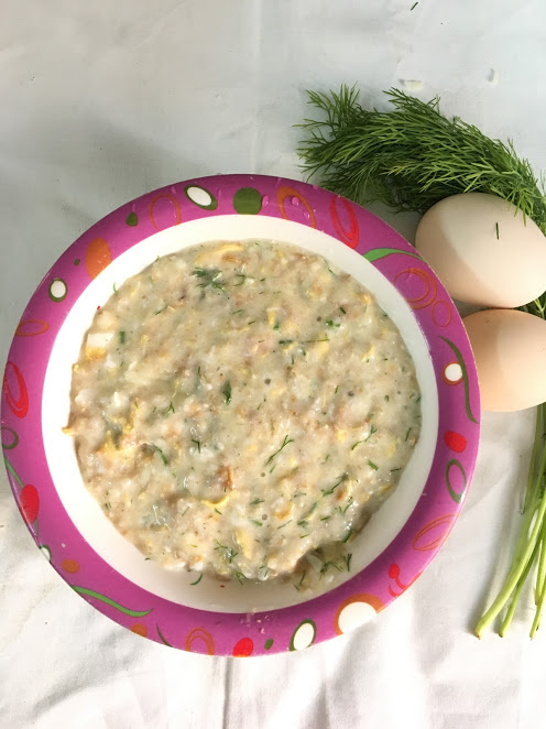 Dill icious egg and oats sojourning in life forumfinder Image collections